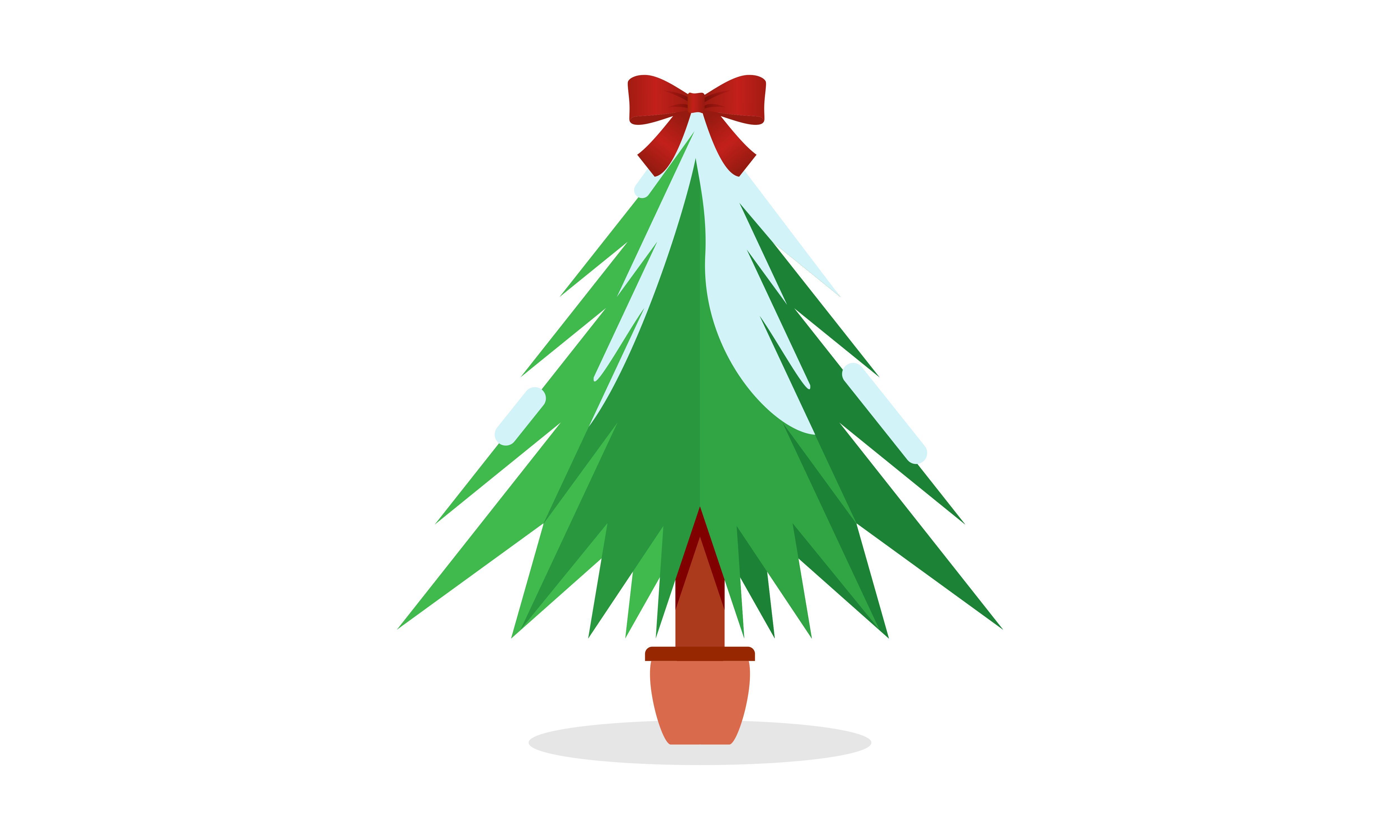 Download Free Christmas Tree Silhouette With Logo Graphic By Deemka Studio for Cricut Explore, Silhouette and other cutting machines.