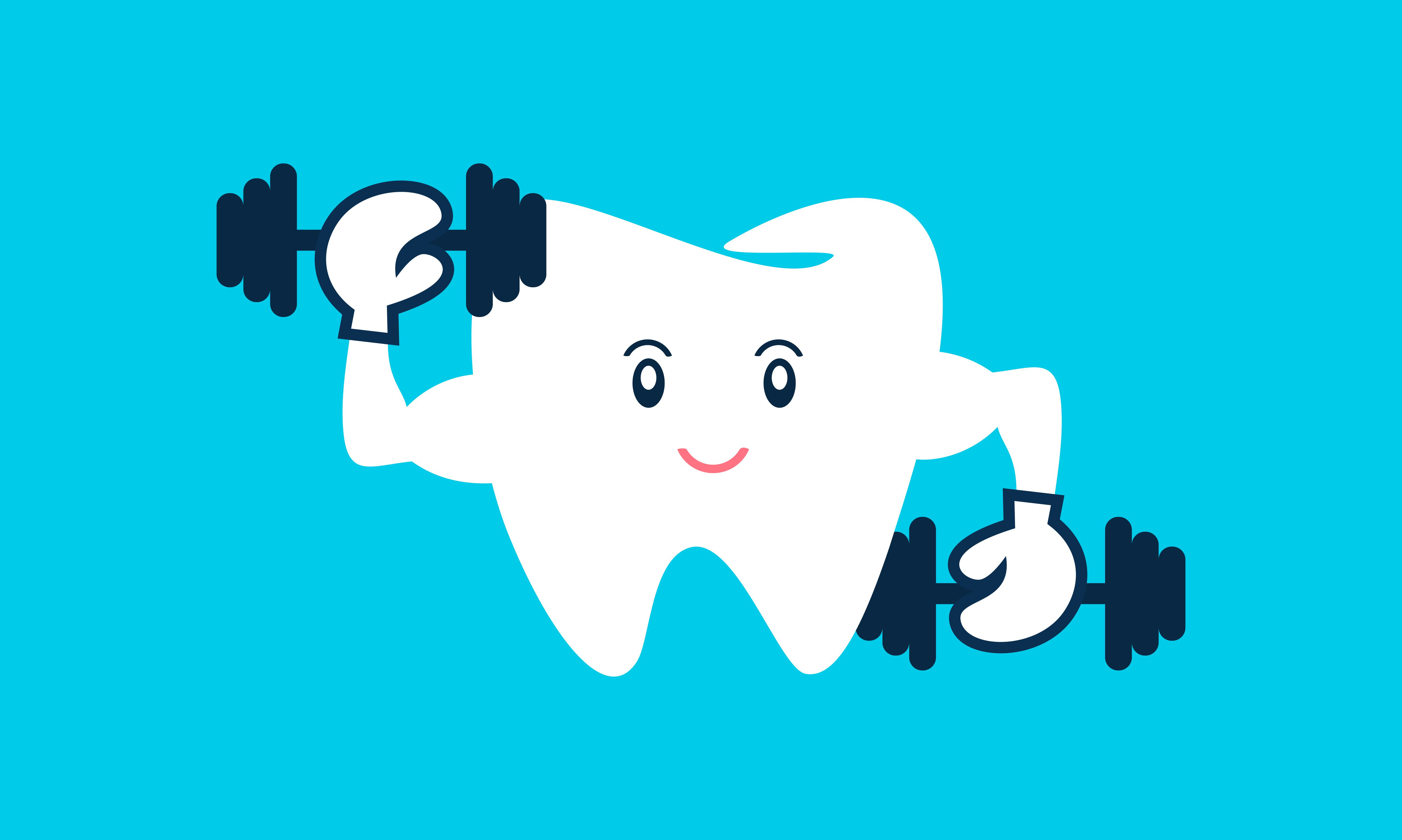 Download Free Dental Mascot Tooth Mascot Dental Logo Graphic By 2qnah for Cricut Explore, Silhouette and other cutting machines.