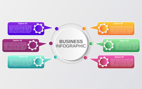 Business Infographic Template Graphic Infographics By nainggig