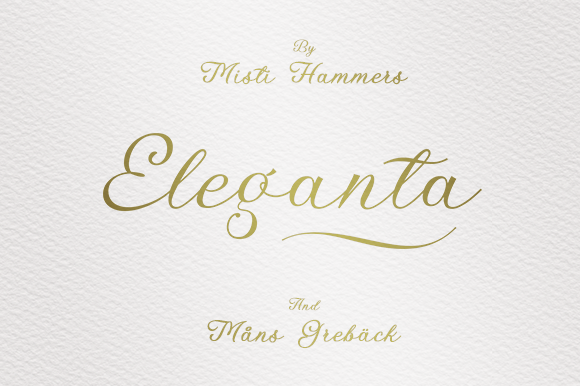 Print on Demand: Eleganta Manuscrita Fuente Por Misti