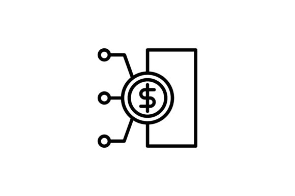 Download Free Cryptocurrency Dollar Algorithm Icon Graphic By Martellucia SVG Cut Files