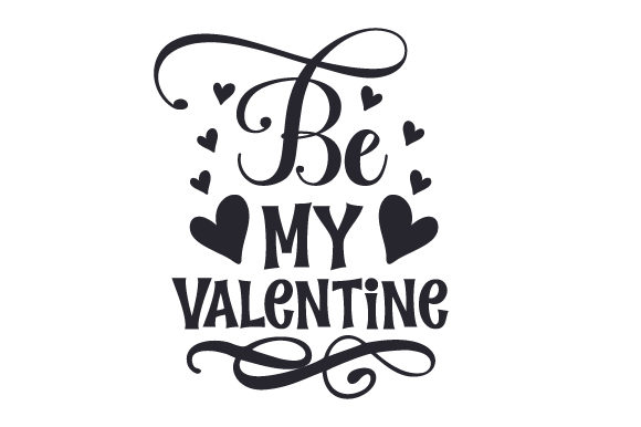 Be My Valentine Valentine's Day Craft Cut File By Creative Fabrica Crafts - Image 2