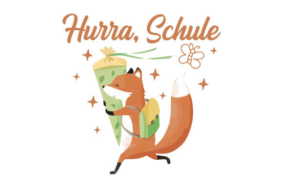 Download Free Hurra Schule Svg Cut File By Creative Fabrica Crafts Creative for Cricut Explore, Silhouette and other cutting machines.