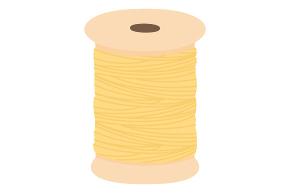 Pastel Yellow Yarn Hobbies Craft Cut File By Creative Fabrica Crafts