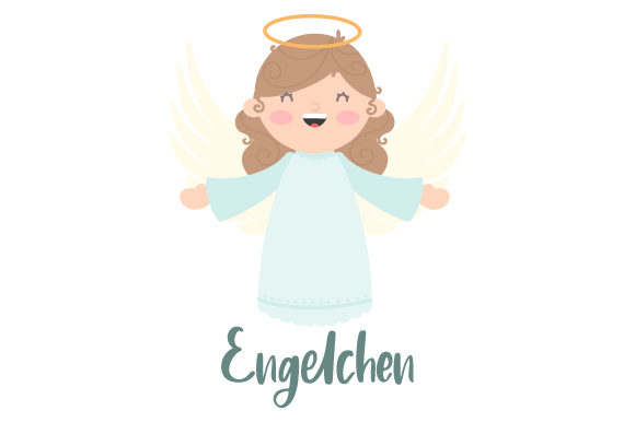 Download Free Engelchen Svg Cut File By Creative Fabrica Crafts Creative Fabrica for Cricut Explore, Silhouette and other cutting machines.