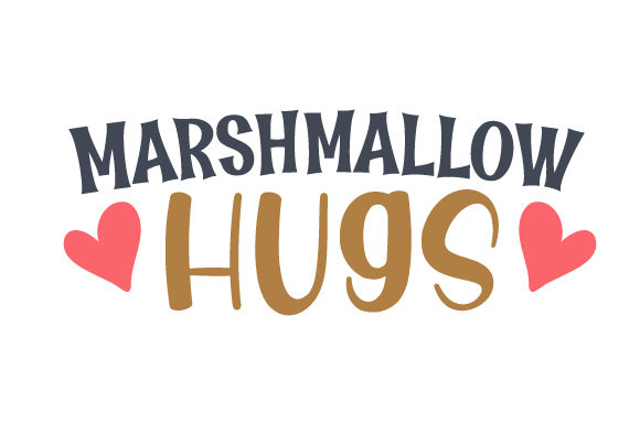 Download Free Marshmallow Hugs Svg Cut File By Creative Fabrica Crafts for Cricut Explore, Silhouette and other cutting machines.