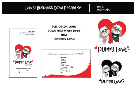 Download Free Pet Business Logo Grafico Por K Vanhorn Creative Fabrica for Cricut Explore, Silhouette and other cutting machines.
