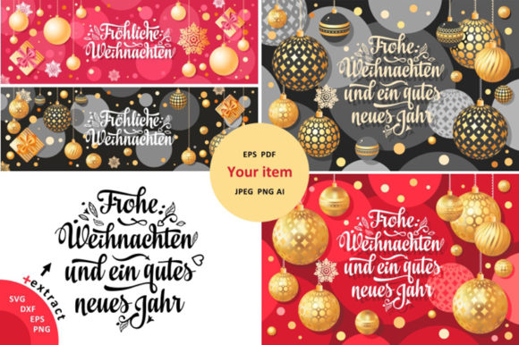 Download Free Christmas Card Weihnachten Christmas I Graphic By Zoyali SVG Cut Files