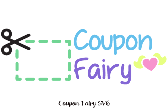 Download Free Coupon Fairy For Car Decal Graphic By Am Digital Designs for Cricut Explore, Silhouette and other cutting machines.
