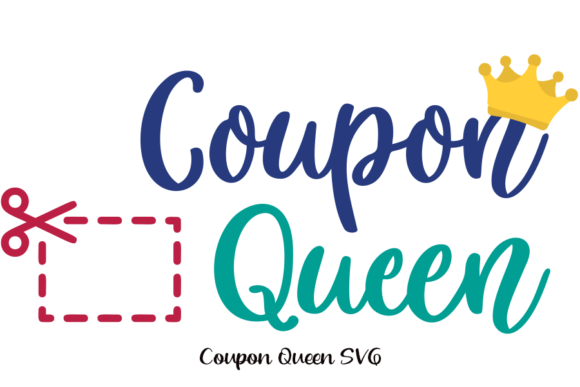 Download Free Coupon Queen Svg For Cricut Car Decal Graphic By Am Digital for Cricut Explore, Silhouette and other cutting machines.