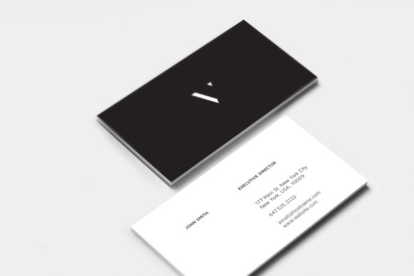Classic Business Cards Graphic Print Templates By Cassandra Cappello