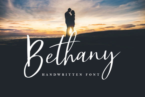 Print on Demand: Bethany Script & Handwritten Font By Sizimon