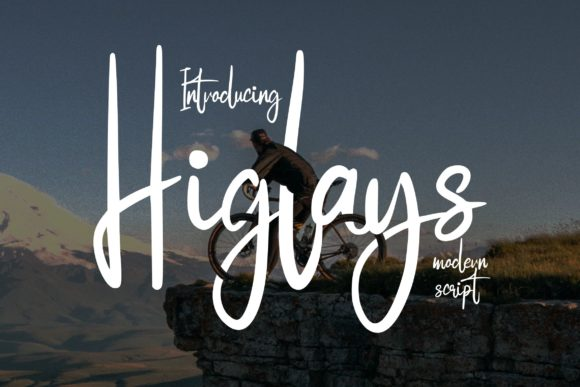 Print on Demand: Higlays Sans Serif Font By Vunira