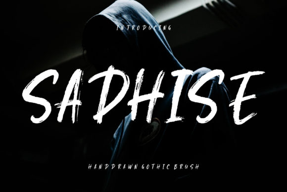 Print on Demand: Sadhise Display Font By CreatypeStudio