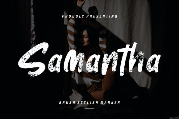 Print on Demand: Samantha Display Font By CreatypeStudio