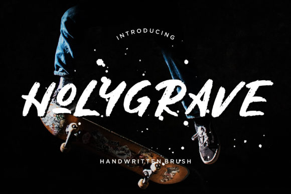Print on Demand: Holygrave Display Font By CreatypeStudio