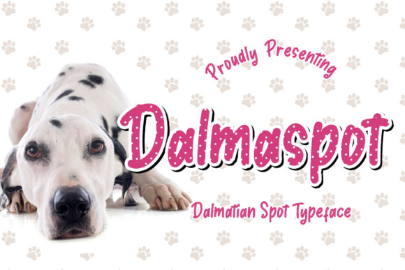 Print on Demand: Dalmaspot Display Font By CreatypeStudio