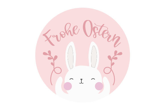 Frohe Ostern Germany Craft Cut File By Creative Fabrica Crafts