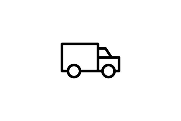Logistic And Delivery Truck Icon Graphic By Alvianugrah30