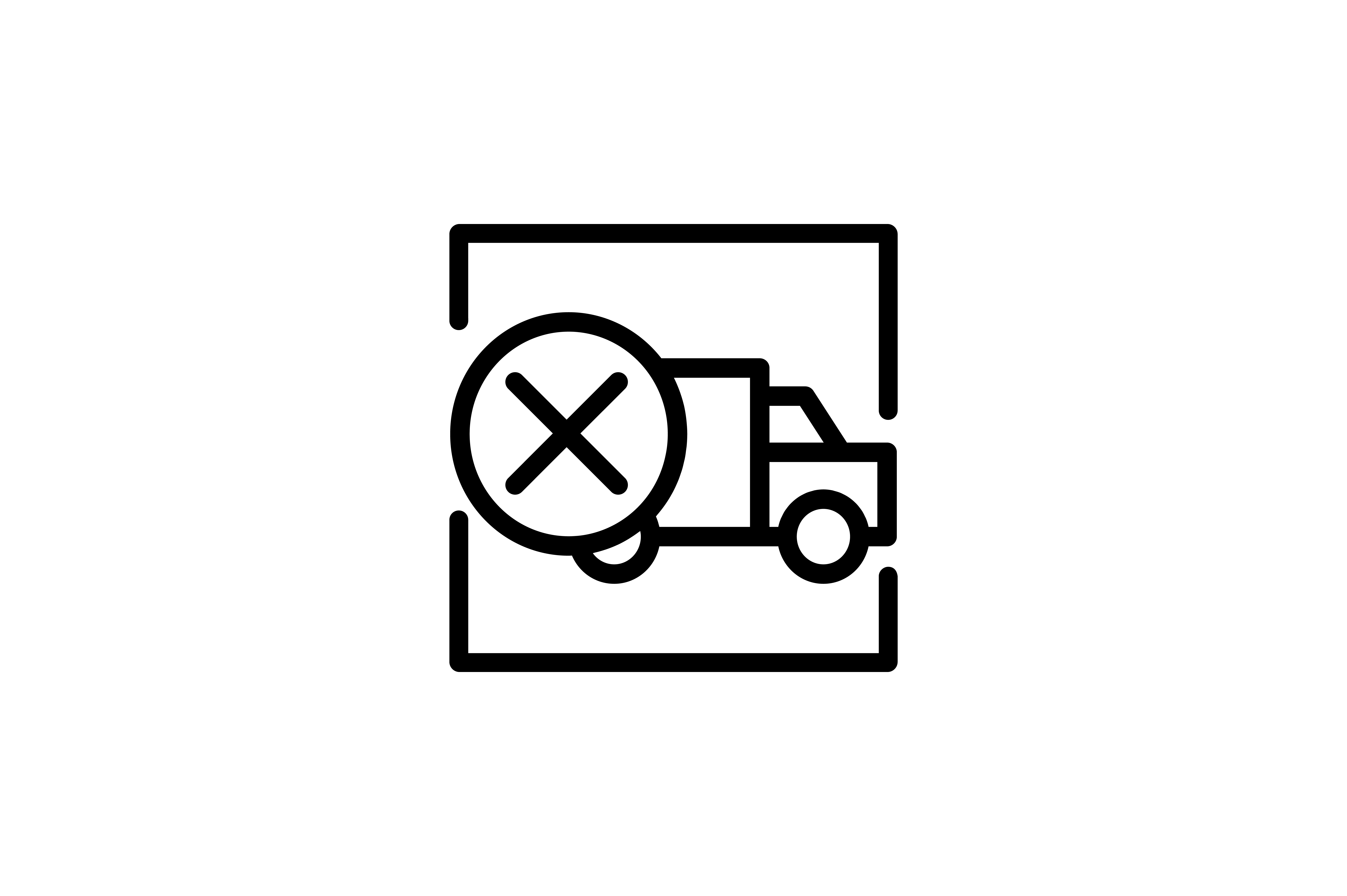 Logistic And Delivery Truck Remove Icon Graphic By Alvianugrah30