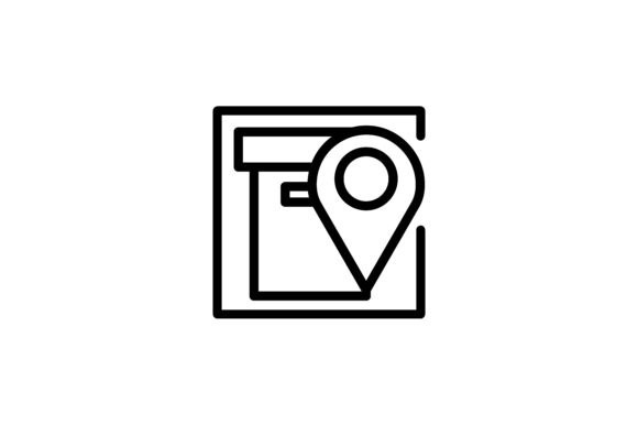 Download Free Logistic And Delivery Location Icon Graphic By Alvianugrah30 for Cricut Explore, Silhouette and other cutting machines.