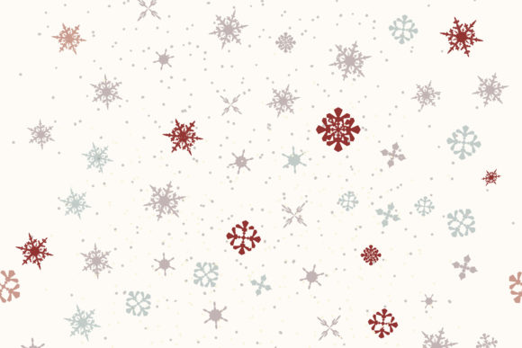 Download Free Christmas Vector Pattern Snowflakes Graphic By Fleurartmariia for Cricut Explore, Silhouette and other cutting machines.