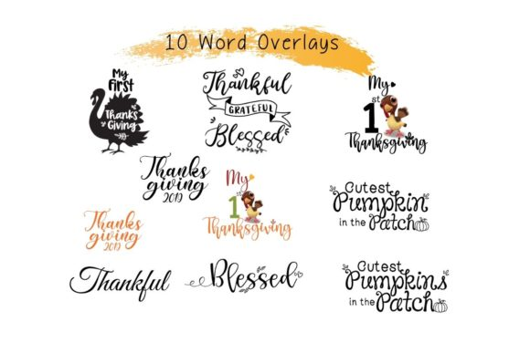 Download Free Thanksgiving Instagram Puzzle Template Graphic By The Little for Cricut Explore, Silhouette and other cutting machines.