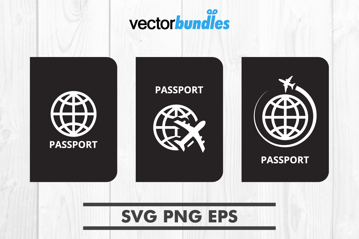 Download Free Passport Document Clip Art Graphic By Vectorbundles Creative for Cricut Explore, Silhouette and other cutting machines.