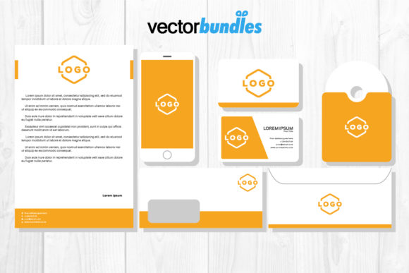 Print on Demand: Stationery, Business Card Mockup Graphic Product Mockups By vectorbundles