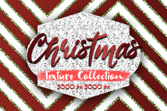 Print on Demand: Christmas Texture Collection Graphic Textures By La Oliveira