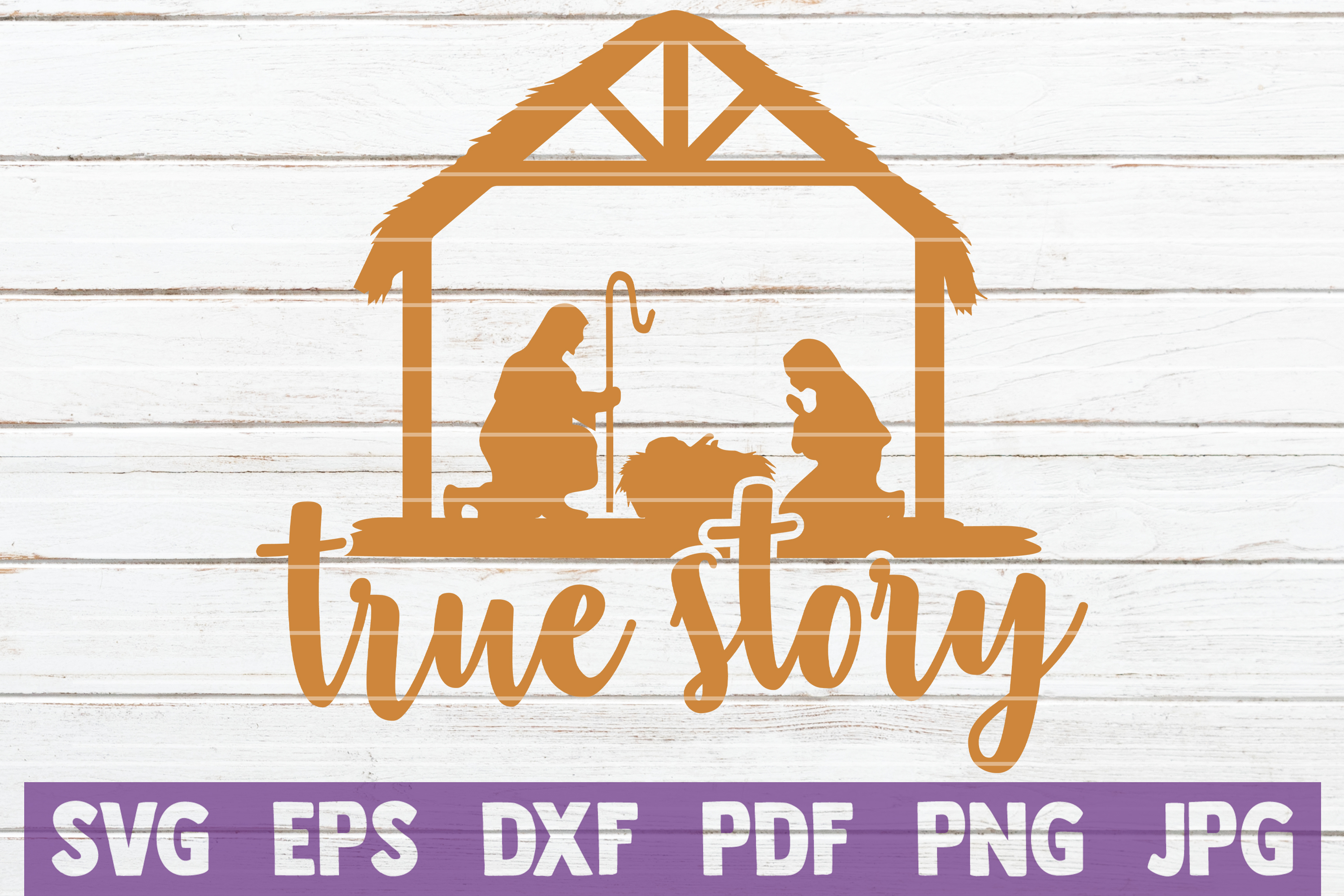 Download Free True Story Graphic By Mintymarshmallows Creative Fabrica for Cricut Explore, Silhouette and other cutting machines.