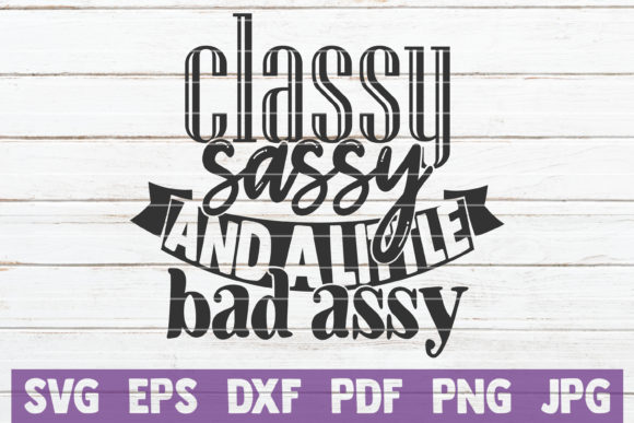 Sassy Bundle Graphic Crafts By MintyMarshmallows - Image 5