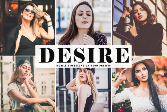 Print on Demand: Desire Lightroom Presets Pack Graphic Actions & Presets By Creative Tacos