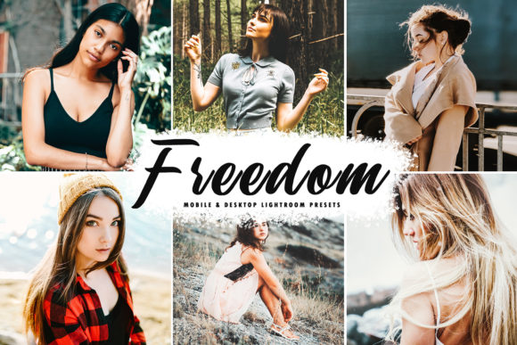Print on Demand: Freedom Lightroom Presets Pack Graphic Actions & Presets By Creative Tacos
