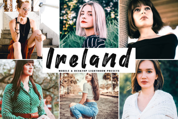 Print on Demand: Ireland Lightroom Presets Pack Graphic Actions & Presets By Creative Tacos