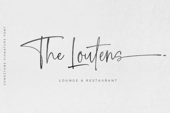 Print on Demand: Gonestones Script & Handwritten Font By Mercurial - Image 12