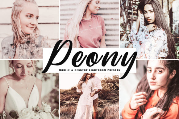 Peony Lightroom Presets Pack Graphic Actions & Presets By Creative Tacos
