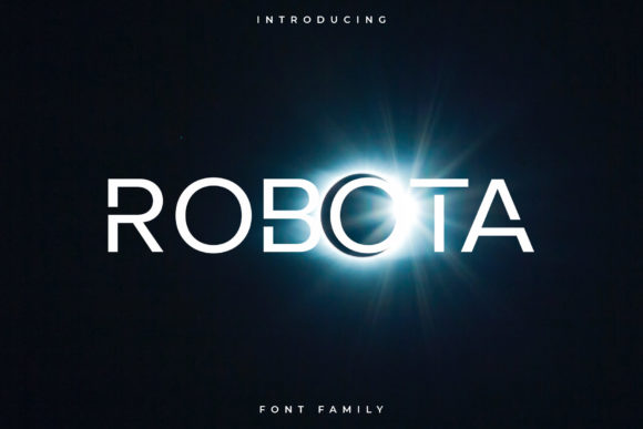 Print on Demand: Robota Sans Serif Font By RC graphics