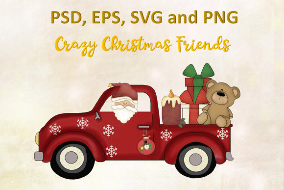 Print on Demand: Christmas Cutting File SVG, PNG, EPS, Graphic Crafts By The Paper Princess