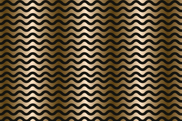 Download Free Black Gold Pattern Paper Vn1114 Graphic By Graphics Farm for Cricut Explore, Silhouette and other cutting machines.