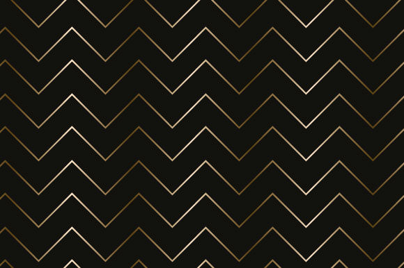 Print on Demand: Black & 'Gold' Pattern Paper VN1134 Graphic Patterns By graphics.farm