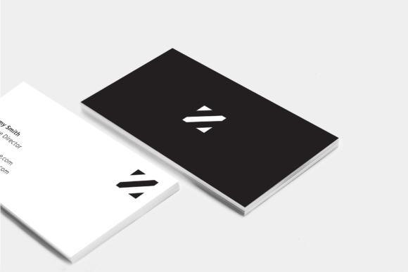 Minimalist Business Cards Graphic Print Templates By Cassandra Cappello