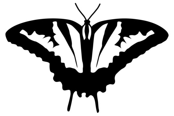 Download Free Butterfly Graphic By Idrawsilhouettes Creative Fabrica for Cricut Explore, Silhouette and other cutting machines.
