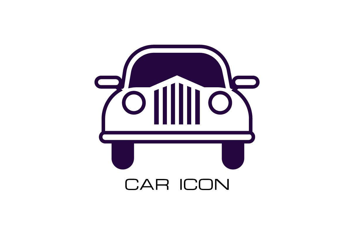 Download Free Classic Car Monochrome Icon Vector Graphic By Hoeda80 for Cricut Explore, Silhouette and other cutting machines.