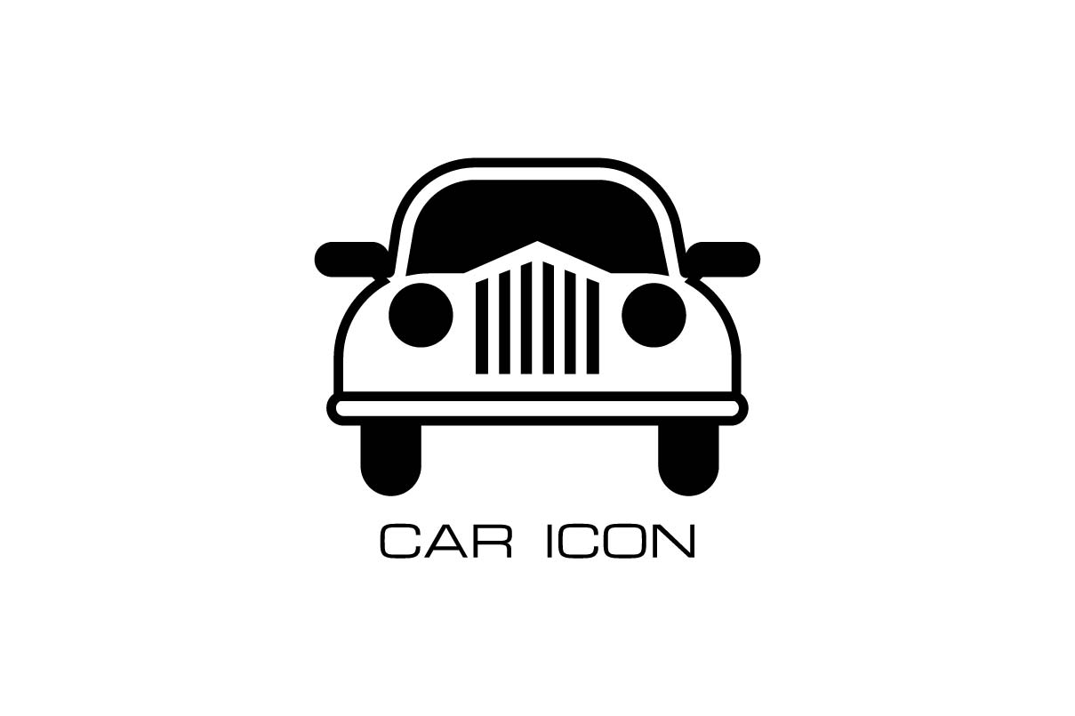 Download Free Car Monochroe Icon Vector Illustration Graphic By Hoeda80 for Cricut Explore, Silhouette and other cutting machines.