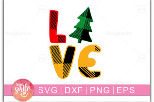 Print on Demand: Christmas Love Graphic Print Templates By Designdealy