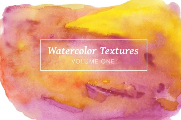 Multicolored Watercolor Pack - Volume 1 Graphic Textures By cassandra
