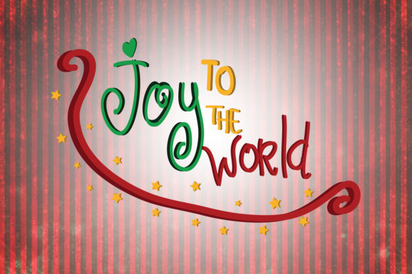 Download Free Joy To The World Christmas Quotes Graphic By Wienscollection for Cricut Explore, Silhouette and other cutting machines.