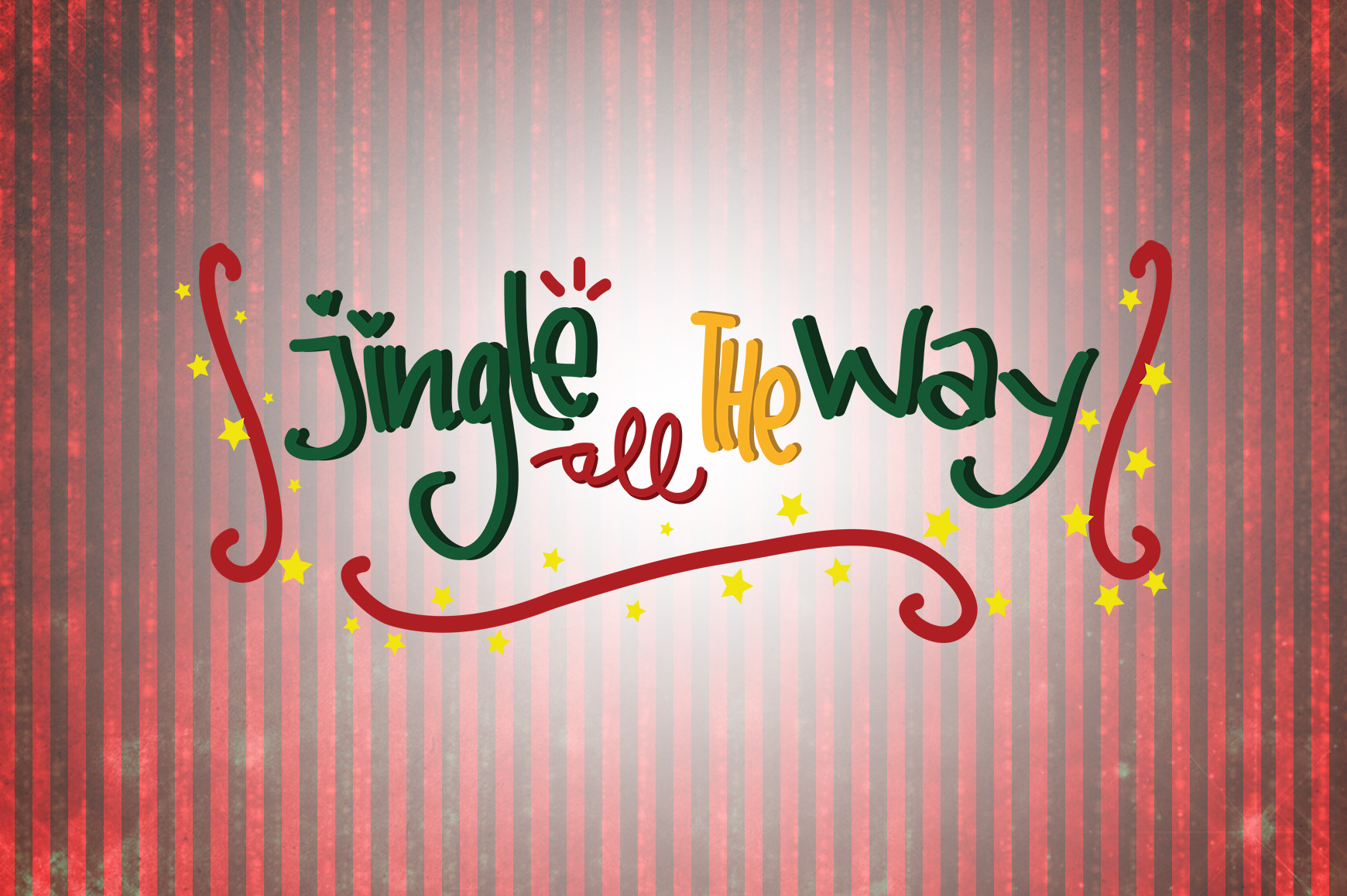 Jingle All The Way Christmas Quotes Graphic By Wienscollection