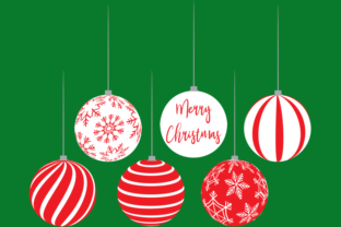 Download Free Christmas Bulbs Graphic By Am Digital Designs Creative Fabrica for Cricut Explore, Silhouette and other cutting machines.
